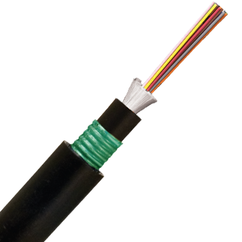 Underground armoured fibre optic cables